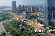 江滨西大道祥坂段下穿通道上盖全面动工 春节前或建成开放