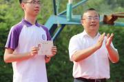 四川南充高中17岁阳光男孩陈曦竹:享受学习奋斗的过程,未来想从事科研